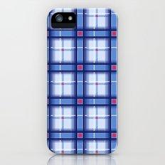 Blue Plaid iPhone (5, 5s) Slim Case