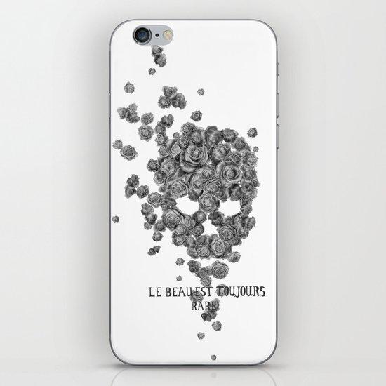 Le beau est toujours rare iPhone & iPod Skin