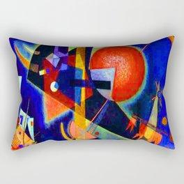 Kandinsky In Blue Rectangular Pillow