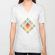 Retro Rainbow Unisex V-Neck