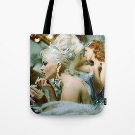 Las Vegas Showgirls 1960 Tote Bag