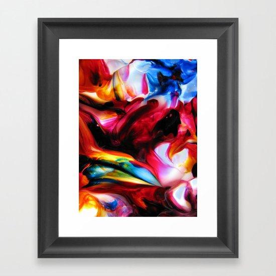 repertory modal Framed Art Print