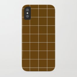 Minimal_LINES_EARTH iPhone Case