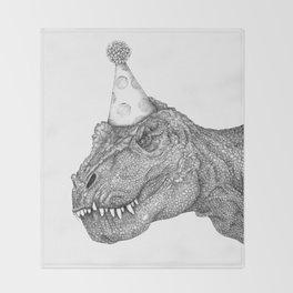 Party Dinosaur Throw Blanket
