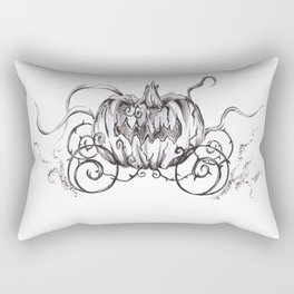 Bibbidi Bobbidi BOO! Inktober Drawing Rectangular Pillow