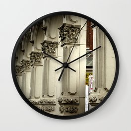 Skidmore Lines Wall Clock