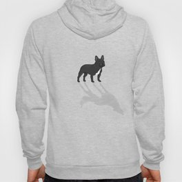 Wild At Heart - Black French Bulldog Hoody