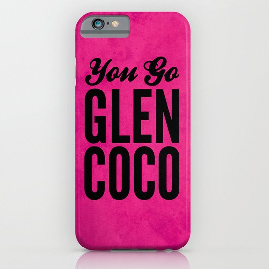 Glen Coco Pink iPhone & iPod Case