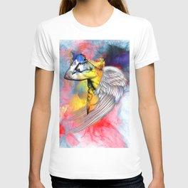 angel male nude T-shirt