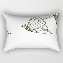 Butterfly Metamorphosis Rectangular Pillow