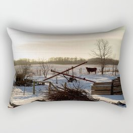 Outstanding in my Field Rectangular Pillow