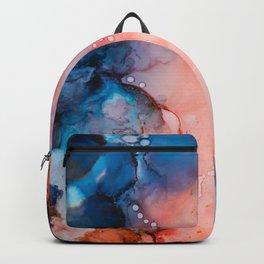 Denim Rose Backpack