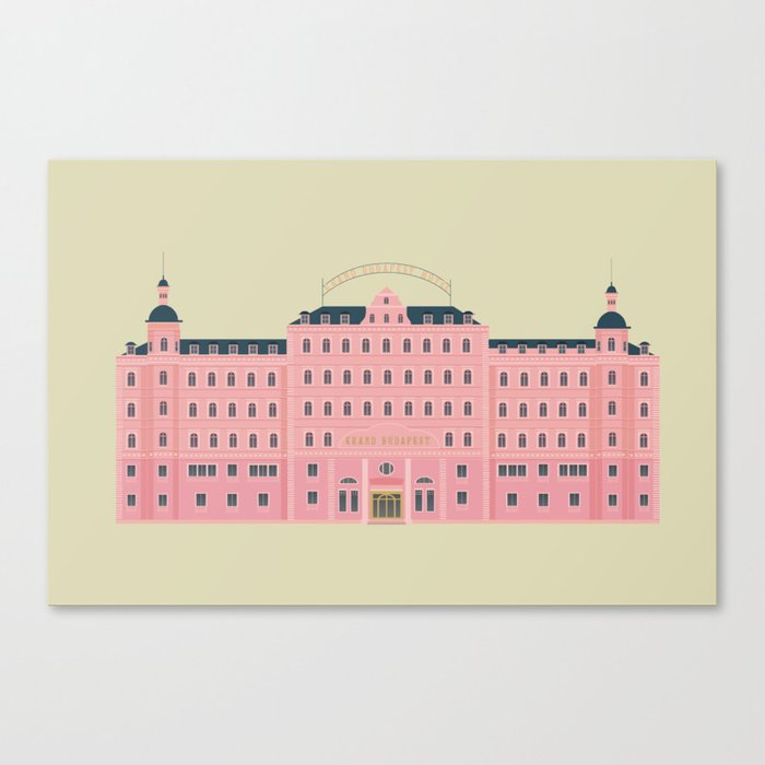 Budapest Hotel Leinwanddruck