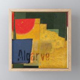 Algarve Framed Mini Art Print