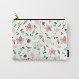 Tropical pastel themed pattern Carry-All Pouch
