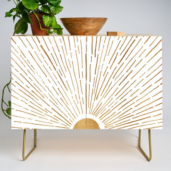 Let The Sunshine In Credenza