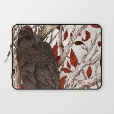 A Raven In Winter Laptop Sleeve