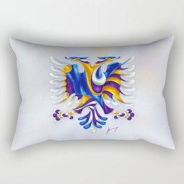 Kosovar (Albanian) Eagle Rectangular Pillow