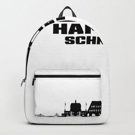 Hamburg Schnelsen Germany Skyline Backpack