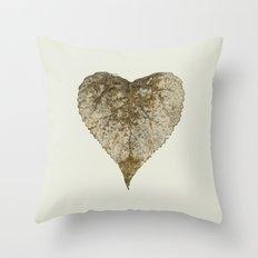 heart nature Throw Pillow
