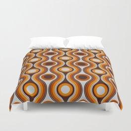 Older Patterns ~ Waves 70s Duvet Cover
