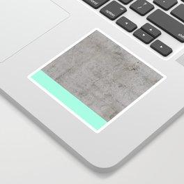 Sea on Concrete Sticker