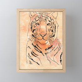 Tiger Framed Mini Art Print