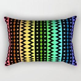 The Rainbow Tribe Rectangular Pillow