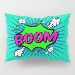 Boom Blue Boom Pillow Sham