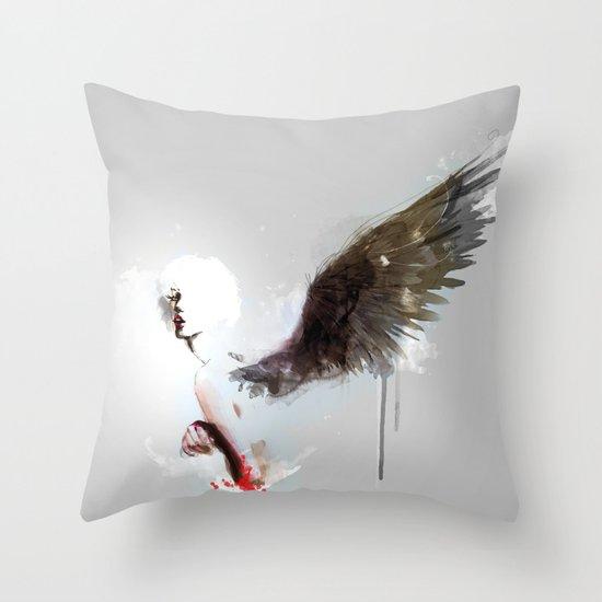 Pi C Throw Pillow