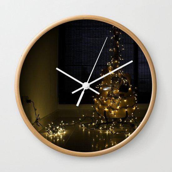 Hear the lights Wall Clock