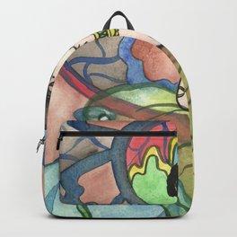 Three Wishes - Vintage Genie  Backpack