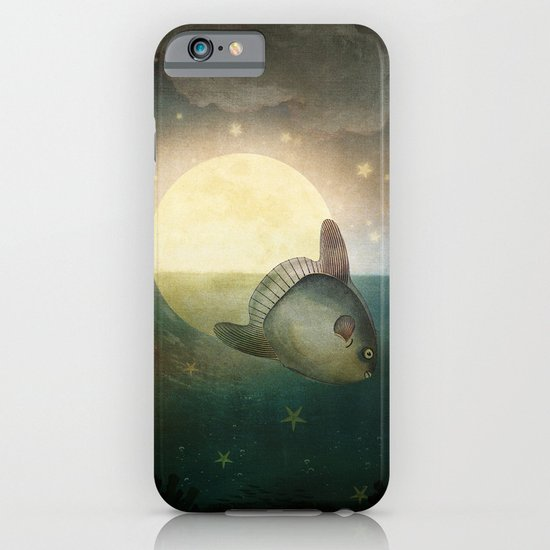 The Fish That Stole The Moon iPhone & iPod Case