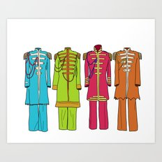 Sargent Peppers Art Print