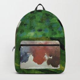 Under the Rainbow Sky #rainbow #collage Backpack