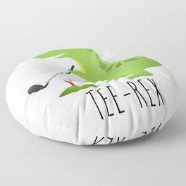 Tee-Rex Floor Pillow