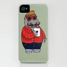 Hipposter iPhone (4, 4s) Slim Case