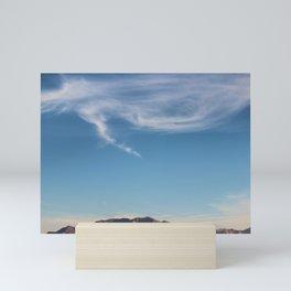 Blue Skies Mini Art Print