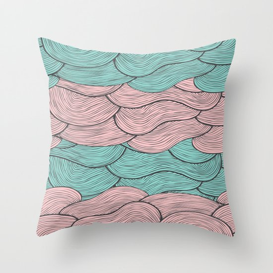 Summerlicious Throw Pillow