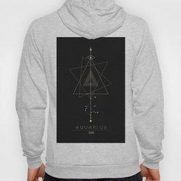 Aquarius Zodiac Constellation Hoody