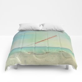 Carribean sea Comforters