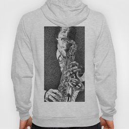 Dark Saxophone Hoody