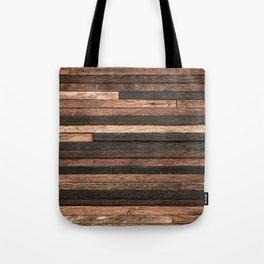 Vintage Wood Plank Tote Bag