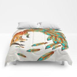 fox circle Comforters
