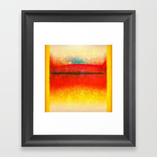 After Rothko 8 Framed Art Print