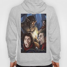 Encounter in the woods Hoody