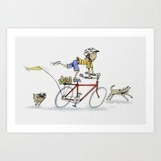 I want to Ride It the Way I Like Art Print