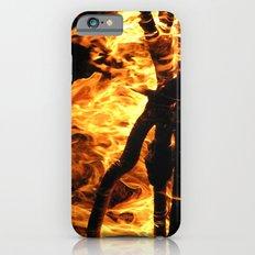 Camp fire at night Slim Case iPhone 6s