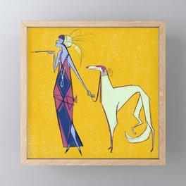 Art Deco Framed Mini Art Print