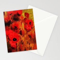 FLOWERS - Poppy reverie Stationery Cards